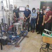 סיור במתקן הדגמה חדשני להמרת פסולות אורגניות לאתנול