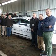 מעבדה ניידת לרכב אוטונומי