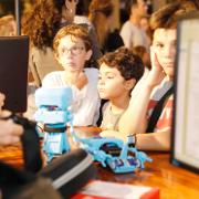 מתחם החדשנות של הפקולטה להנדסה מציג את העולם הטכנולוגי החדשני בליל המדענים