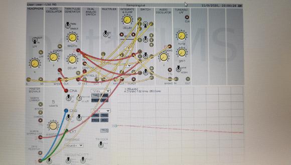 מערכת ללמידה מרחוק עבור המעבדה המתקדמת בתקשורת