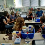 המעבדה לטכנולוגיות מים של פרופ' הדס ממן