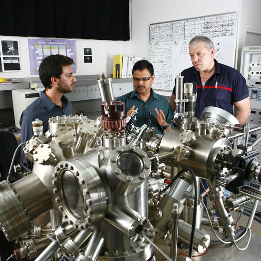 תכנית לתארים שני ושלישי במחלקה למדע והנדסה של חומרים