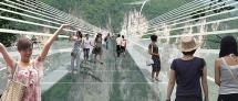 גשר הזכוכית הארוך (המפחיד) והגבוה בעולם בג'אנג ג'יאג'יי