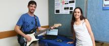 הסטודנטים של הפקולטה להנדסה מביאים בשורה משמחת לנגני גיטרה חשמלית