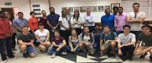 סטודנטים מכל קצוות העולם במפגש עם דקאן הפקולטה להנדסה