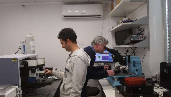 במעבדה לחומרים דו-ממדיים