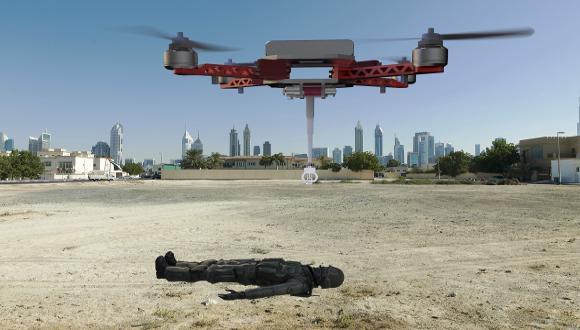 פינוי פצועים באמצעות כלי טיס בלתי מאוישים