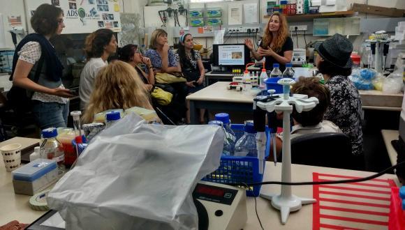 המעבדה לטיפול במים של פרופ' הדס ממן