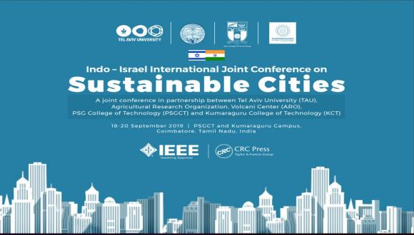Indo – Israel International Joint Conference on Sustainable Cities